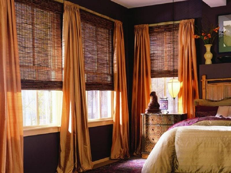Рулонные шторы создадают уют